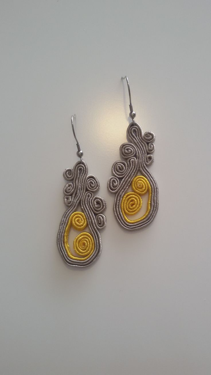 my soutache earrings