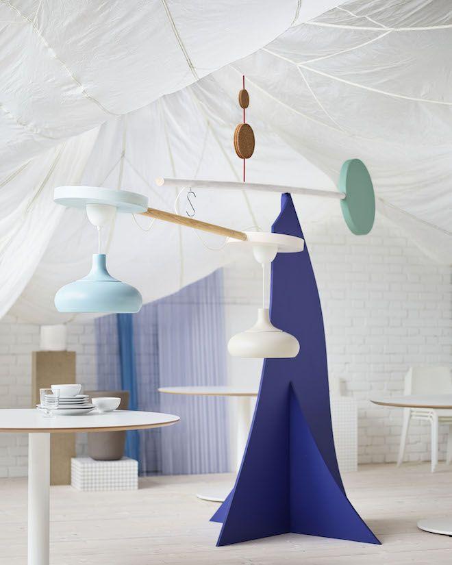 Speels interieur Ikea #verlichting #kleur #ikea #interieur
