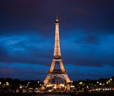 Eiffel Tower, Paris  One of the world's most popular landmarks