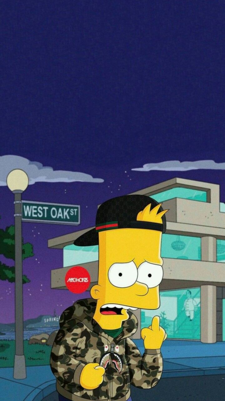 Bart Simpson Wallpaper Tumblr In 2020 Bart Simpson Art Bart Simpson Simpsons Art