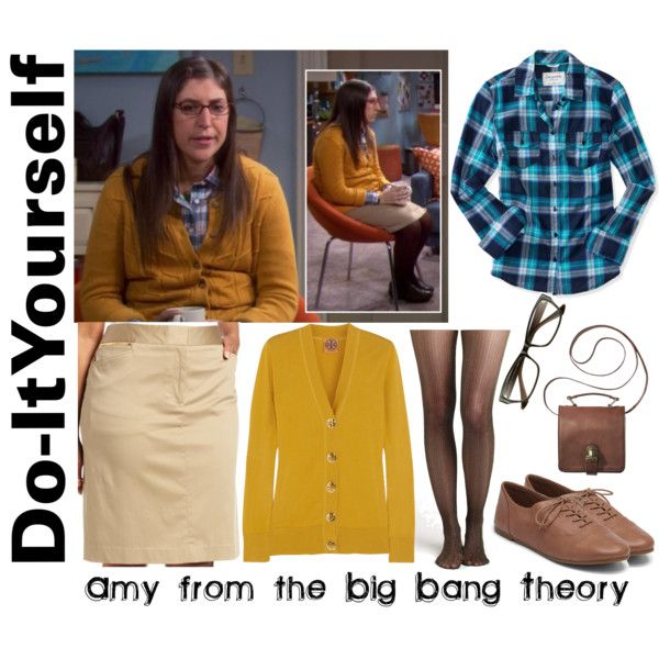 """390 - DIY Amy Farrah Fowler"" by fashionablyroyal on Polyvore                                                                                                                                                                                 More"