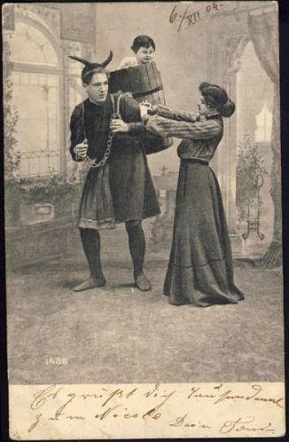 1904 - Krampus - Postcard
