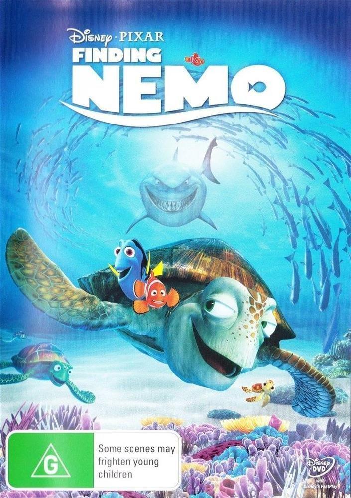 Discounted: Finding Nemo (DVD, 2012 1 Disc Edition) Region 4 Australia AS NEW Disney Pixar #movies