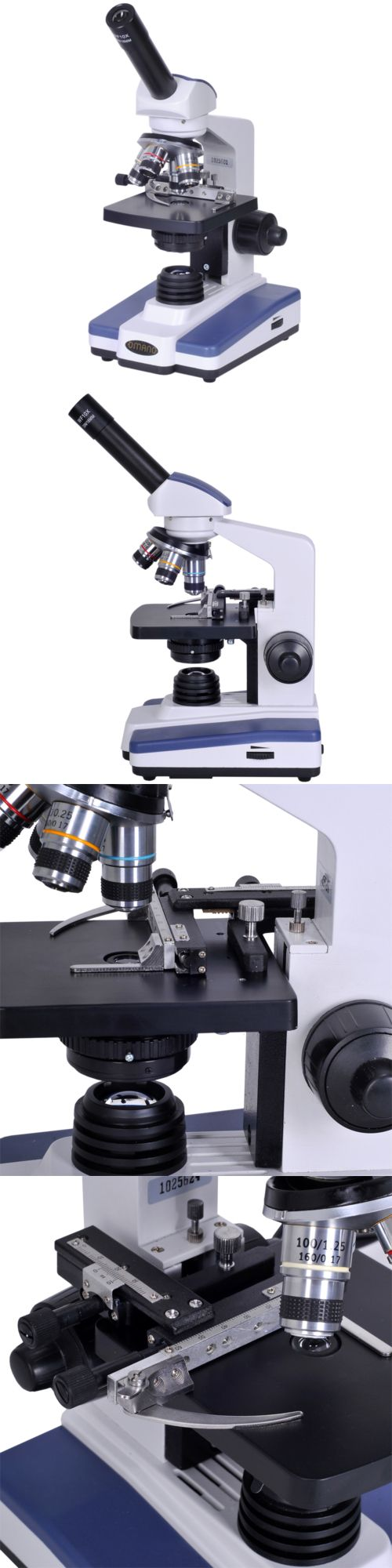 Microscopes and Chemistry 2568: Om118-M4 Monocular Compound Microscope -> BUY IT NOW ONLY: $179 on eBay!