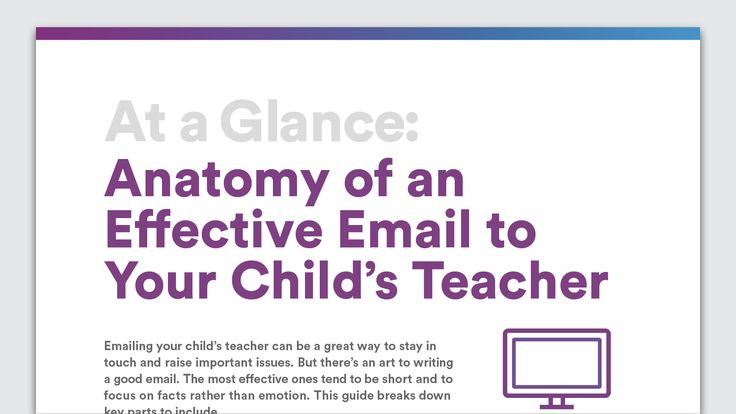 The 22 best writing tips images on pinterest daily writing prompts at a glance anatomy of an effective email to your childs teacher fandeluxe Gallery