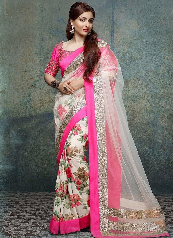 Make a stunning style statement with this Party Wear Multi Colour Designer Saree.The marvelous resham embroidery with stone, lace and patch border work adds opulence. Comes with matching blouse. Length: 5 meters (including 85 cms blouse fabric) Blouse Fabric attached with saree. Price : Rs 2,200.00 / $ 44 sales@trulyours.in customer care : +91-9163690605
