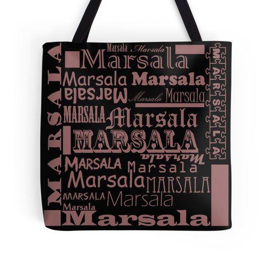 Beautiful Cushions/ Marsala/ Marsala Wordz