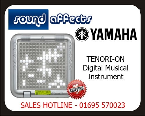 Yamaha Tenori-On Available now at Sound Affects Music Studios  Check out this demo video by Kieran Hebden of Four Tet   http://youtu.be/M20ukzn_rsw