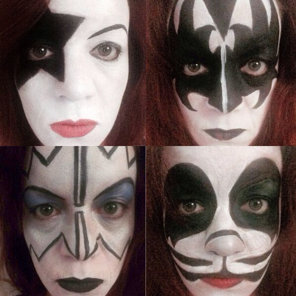 Kiss Makeup Designs: Best 25+ Kiss Face Paint Ideas On Pinterest