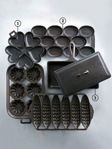 The Collector's Guide Vintage Bakeware~ Cast Iron
