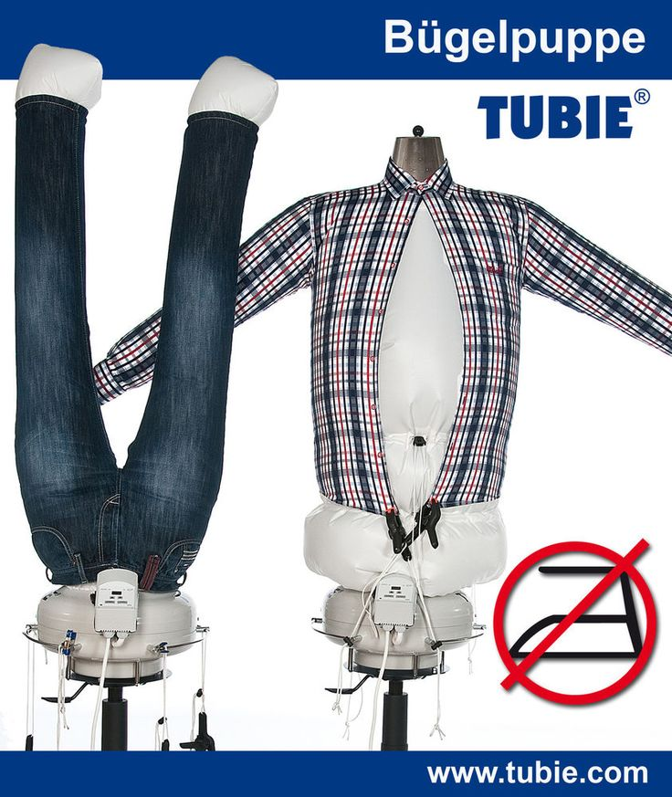 TUBIE Bügelhilfe Hemdenbügler Bügelpuppe Bügelstation Bügelbrett Bügelmaschine