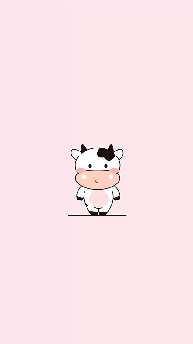 I Do Not Own This Image Cow Wallpaper Cute Wallpapers Cartoon Wallpaper