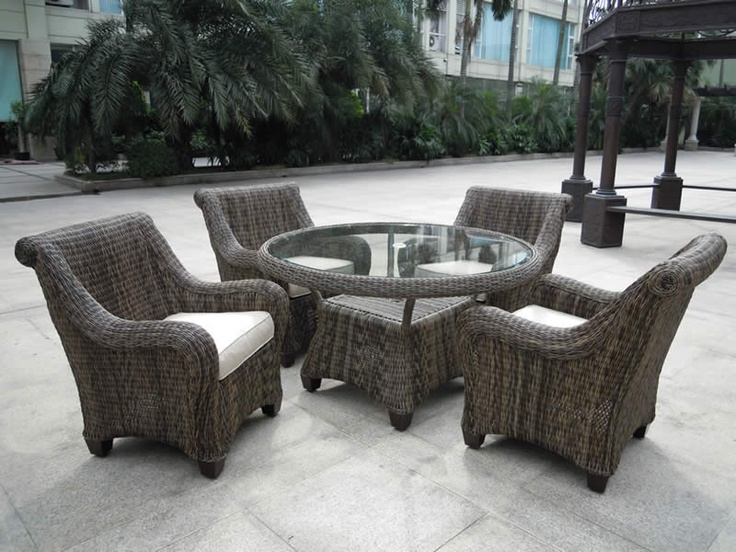 Four Seasons Patio Dining Set Http://www.treesntrends.com/products