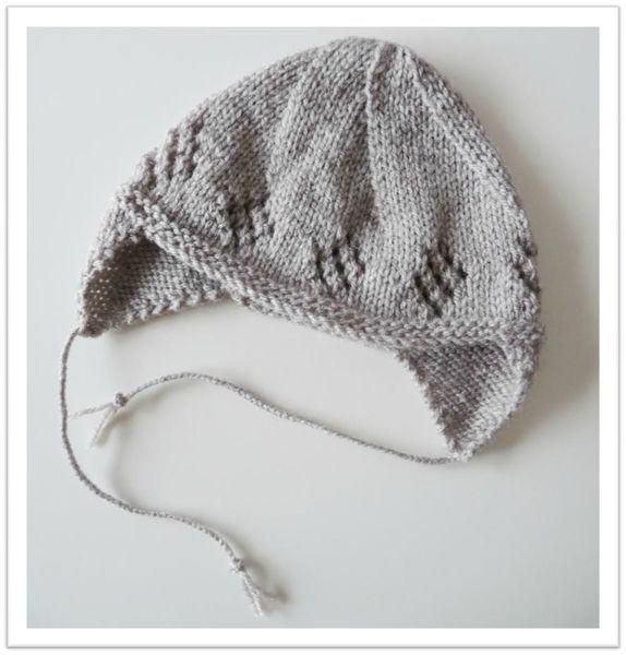 Bonnet à oreilles pour bébé