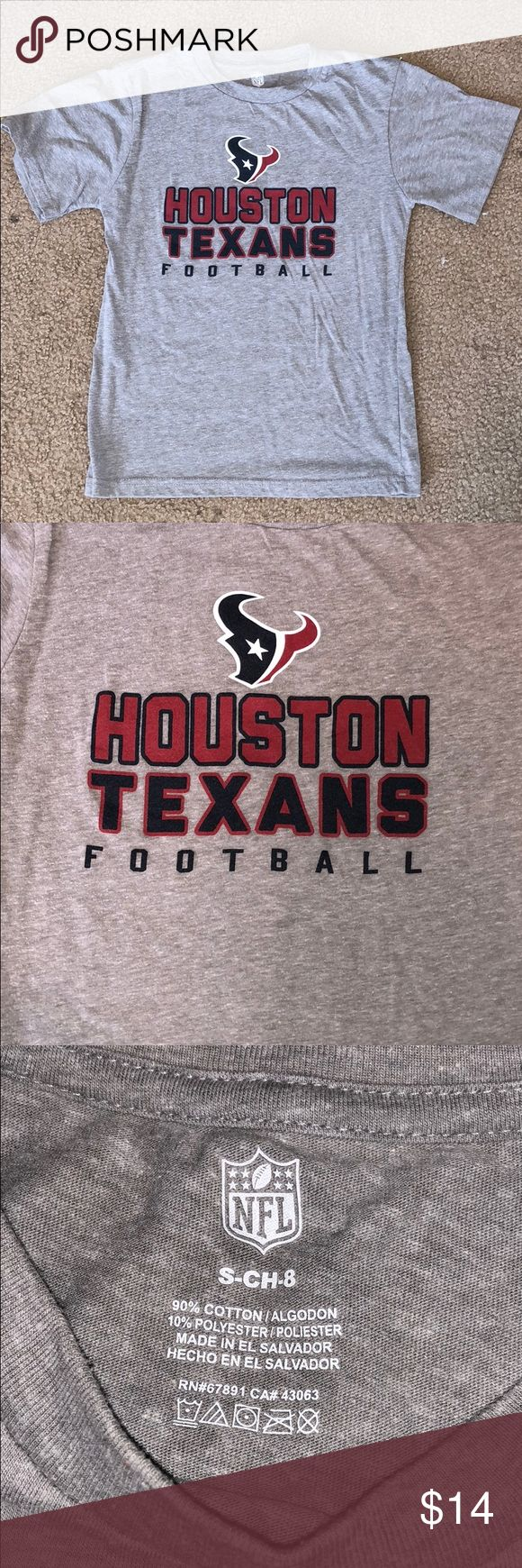 Children's NFL Houston Texans Football Tee!!! Children's NFL Houston Texans Football Tee!!! Size Small -Child-8 NFL Shirts & Tops Tees - Short Sleeve