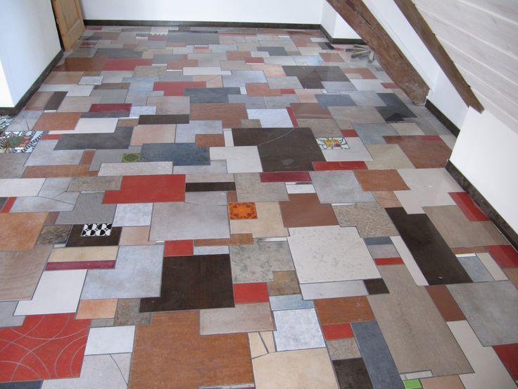mixed keramic tiles