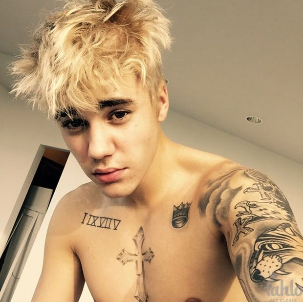 pictures of justin bieber with his shirt off by himself - Google Search
