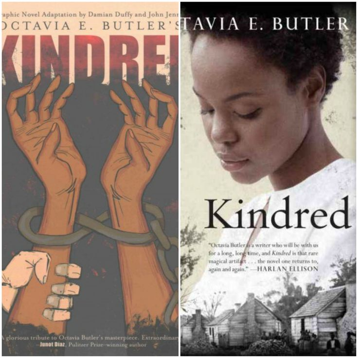 For today's Black History Month character spotlight we present...Dana from Kindred! This novel combines science fiction and psychological thriller in the story of Dana, a modern young black woman who has been flung back in time to the antebellum South. There she has to decide whether to save the life of a white, slave-owning plantation owner who will one day father Dana's ancestor.   Read the book or the graphic novel adaptation at #TheLibrary!
