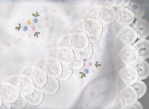 ROSE QUARTZ & SERENITY OR LAVENDER PETIT FLEUR #LACE #TEA CLOTH http://bit.ly/1XJavV4  #linens #dining #weddings