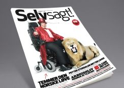 Selvsagt magazine from Uloba. Pinned from www.redink.no.