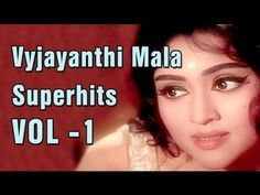 Vyjayanthimala Superhit Song Collection - Jukebox 1 - Evergreen Old Hindi Songs Collection - YouTube
