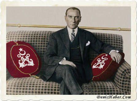 Mustafa Kemal Atatürk Gülcemal Vapurunda