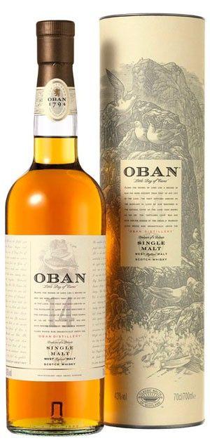 Whisky Oban 14 Años 70 Cl. por sólo 40,00 € en nuestra tienda En Copa de Balón:    https://www.encopadebalon.com/es/whiskies/166-whisky-oban-14-anos-70-cl    El whisky Oban 14 años, es un whisky escocés de malta muy valorado por los buenos conocedores de whisky.