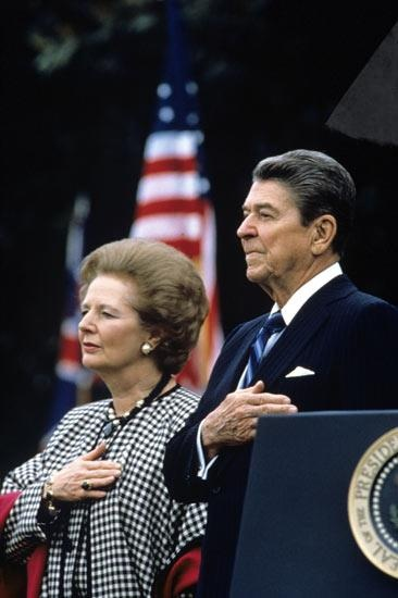 Thank you, Prime Minister Thatcher, for standing alongside the United States and working to defeat communism!