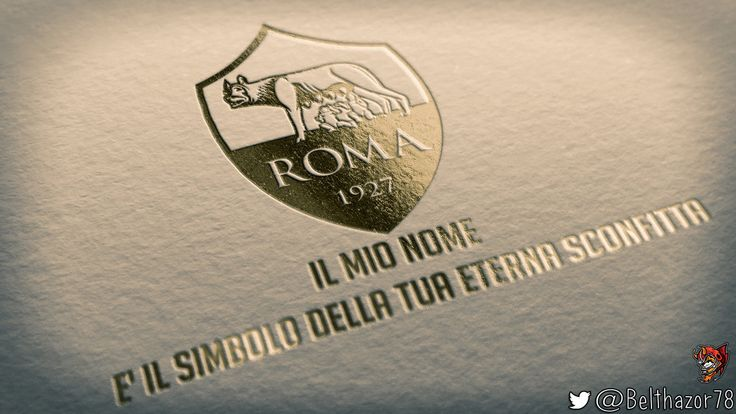 AS Roma Mockup - Derby by Belthazor78.deviantart.com on @DeviantArt