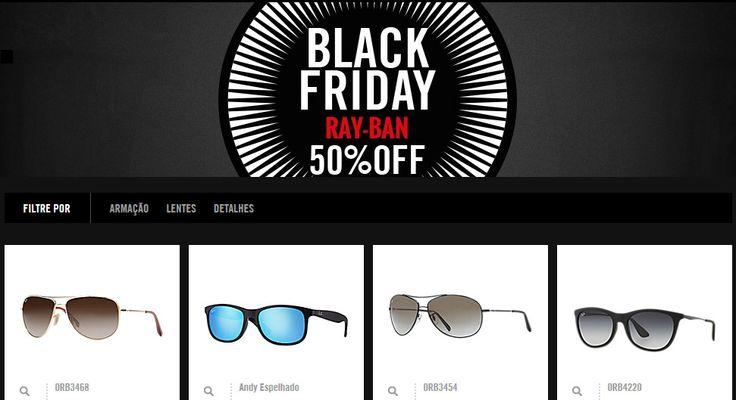 Aqui está um dos melhores cupons de desconto do ano! 50% de desconto em óculos Ray-Ban + Frete Grátis. Pegue neste link http://descontostop.com/cupons/shop/cupom-de-desconto-ray-ban/  Desconto válido no site oficial da Ray-Ban. Ação exclusiva para a semana da Black Friday.  #descontostop #rayban #óculos #eyeglasses #oculosdesol #cupom #desconto #cupomdedesconto #oficial