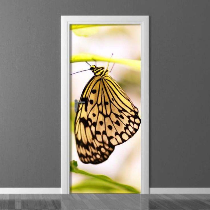Fototapeta na drzwi Wally #wally #wallpaper #doors #homedecor #homedecoration #homeinspiration #doordecor #inspiration #decoration #interior #design #interiordesing