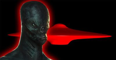 SACH BHARAT: Humanoid Alien Lands Red UFO in India, Leaves Witn...