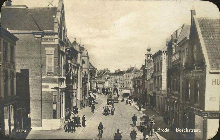 Boschstraat Breda 1905