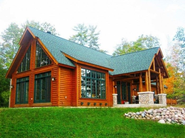 Best 25+ Prefab Log Homes Ideas On Pinterest | Log Cabin Home Kits