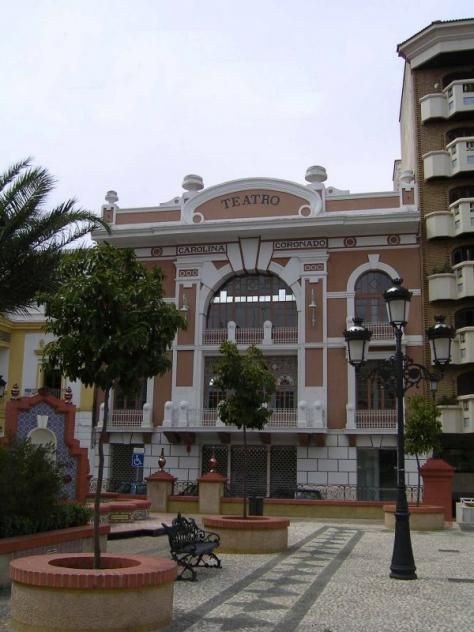 El Teatro Carolina Coronado de Almendralejo.