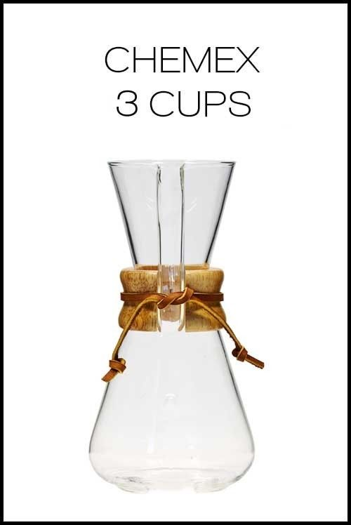 Chemex Classic Series 3 Cup | 650k