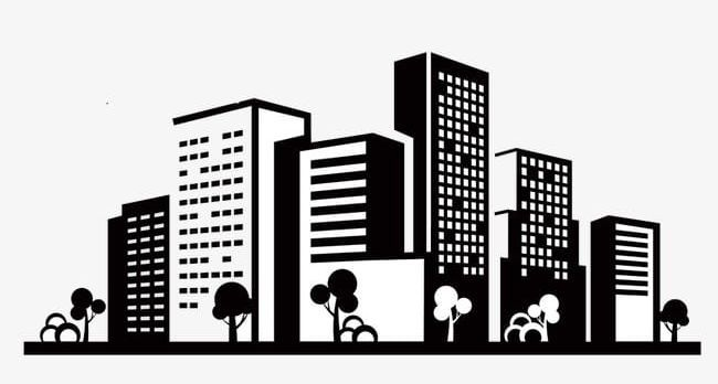 Building City Icons Png Black Building Building Clipart Building Icon City Clipart Hudozhestvennye Idei Rospis Sten