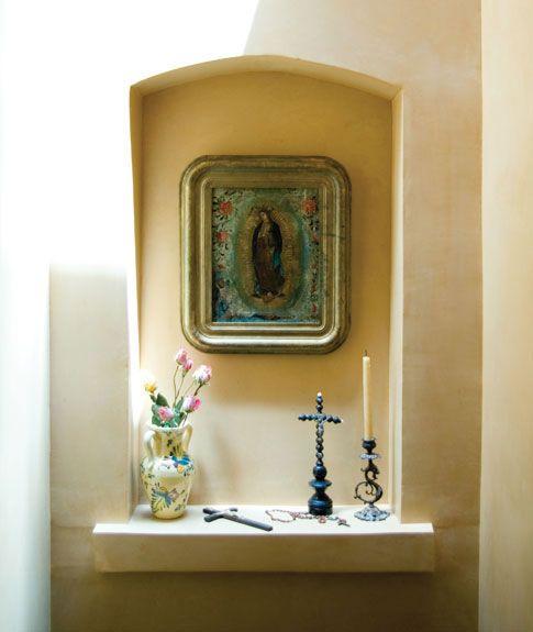La virgen de guadalupe nicho arquitectura pinterest for Casa minimalista historia