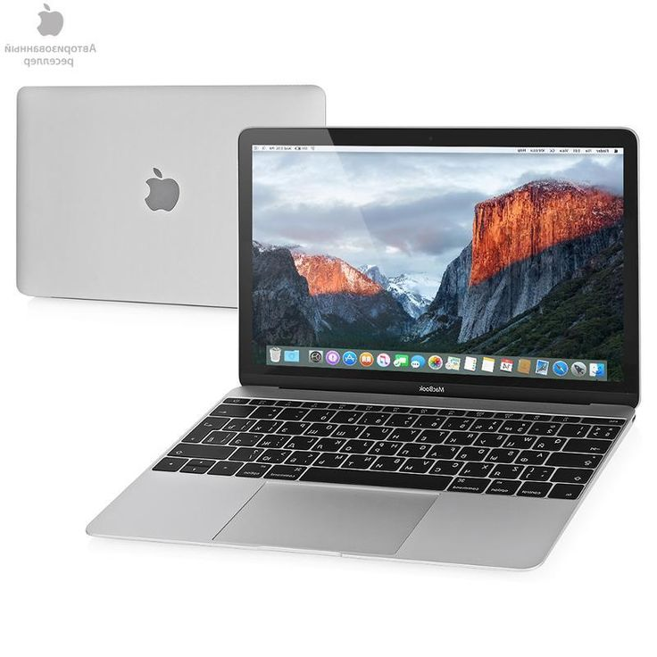 ноутбук Apple MacBook 12 Silver, MLHA2RU/A