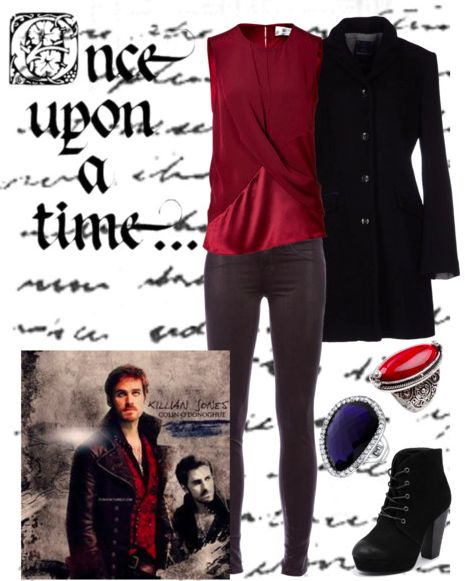 Look inspired by Killian Jones from Once Upon a Time @thegirlbackstage