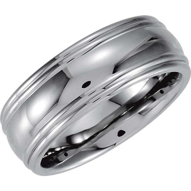 Stainless Steel 7mm Grooved Band Size 11...(STSTST1002:1011:P).! Price: $39.99