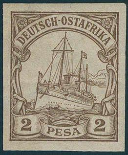 - Deutsche Kolonien Ostafrika, Michel 11PI