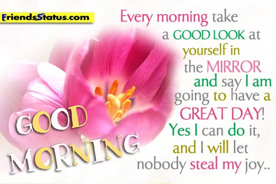 Good Morning Have a Great Day Quotes