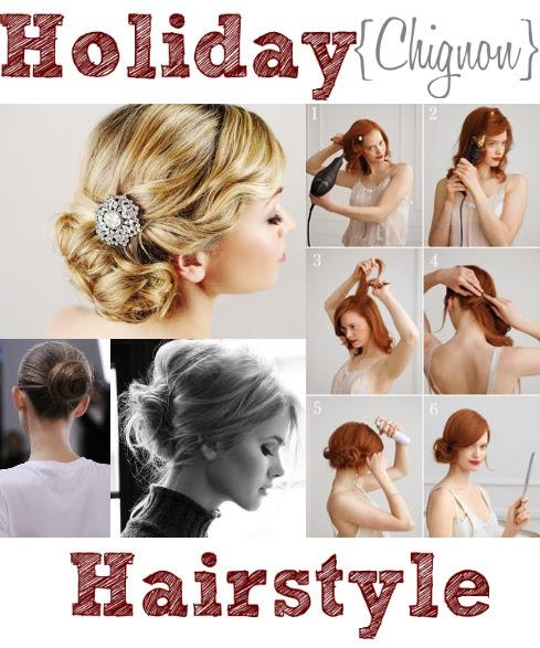 Holiday hairstyles #1