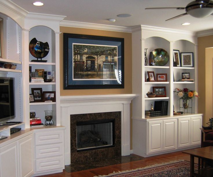 tv fireplace built in - Google Search