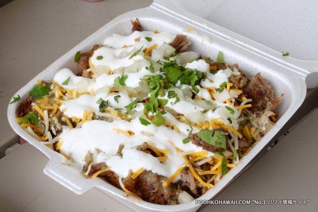 """地元の人に人気のテイクアウト・メキシカン料理のお店「アレハンドロス・メキシカンフード」""""Alejandros Mexican Food in Honolulu"""" #Hawaii #ハワイ  http://www.poohkohawaii.com/gourmet/alejandros.html"""