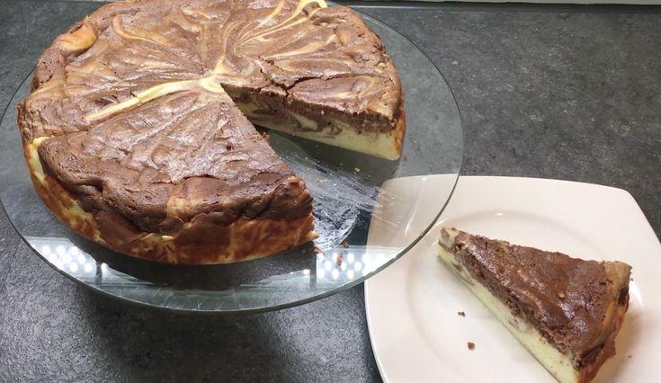 Kochvideo zum einfach nachkochen: Ein erfrischender und cremig süßer Käsekuchen geht einfach immer. In der Kombination mit Nutella kann dieser einfach nur noch