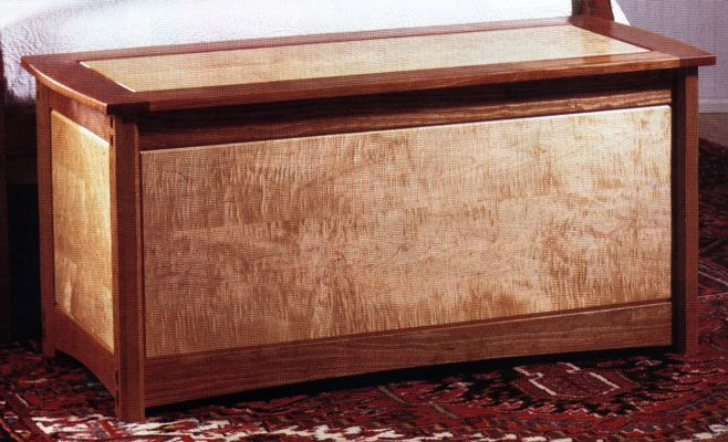 Fine woodworking blanket chest projects plans