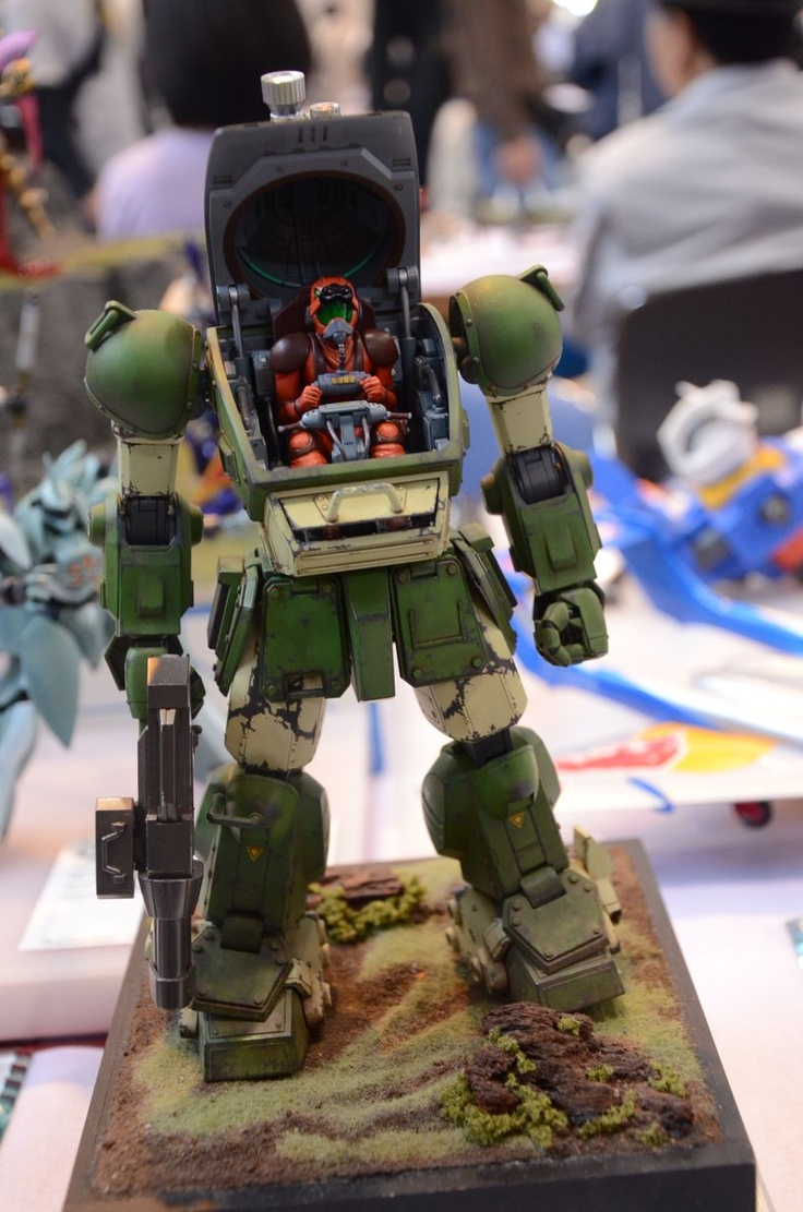 Giant Mecha Make the Best Models. They Really Do. From VOTOMS...how was this called?