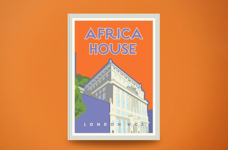 Africa House is one of our more colourful brands, drawing on the Art Deco character of the building
